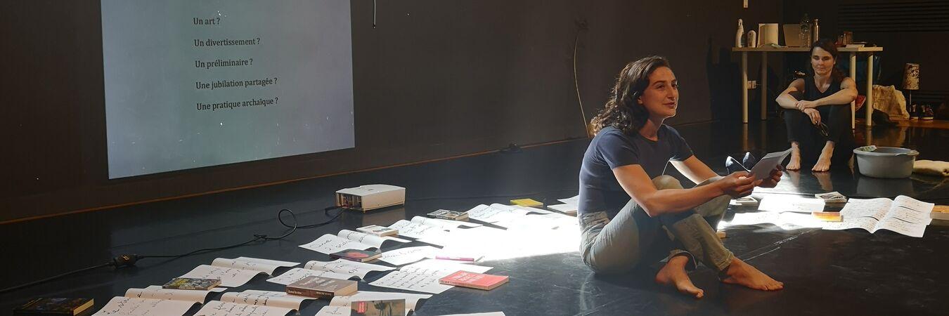 Julie Benegmos & Compagnie Libre Cours   STRIP - Julie Benegmos
