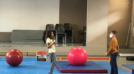Les 3 → 20 ans / Projet Cirque à l'école