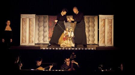 Saison 2020 - 2021 / Caligula | ANNULÉ, Annulé | Giovanni Maria Pagliardi - Vincent Dumestre / Le Poème Harmonique - Mimmo Cuticchio - Alexandra Rübner - Arcal C<sup>ie</sup> Nationale de Théâtre Lyrique et Musical