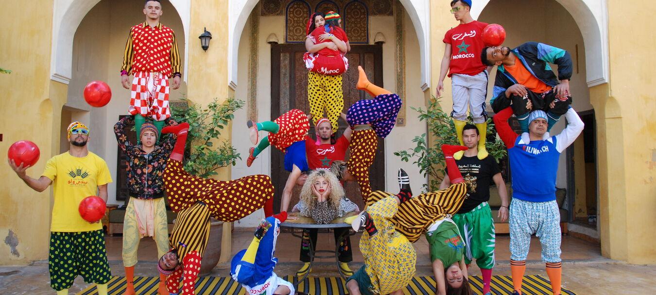 FIQ ! | ANNULÉ | Annulé | Groupe acrobatique de Tanger – Maroussia Diaz Verbèke