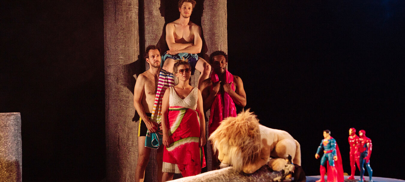 Hercule à la plage | ANNULE | Fabrice Melquiot – Mariama Sylla – Théâtre Am Stram Gram