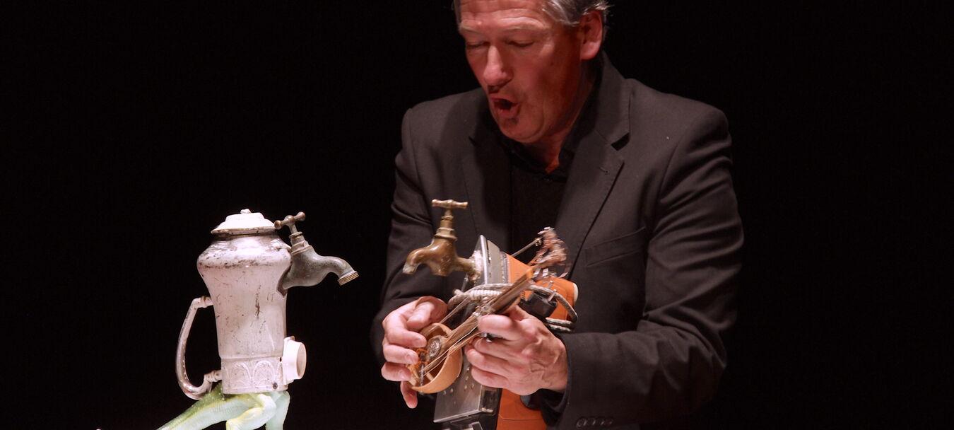 Parades Nuptiales en Turakie   ANNULÉ   Michel Laubu - Emili Hufnagel - Turak Théâtre