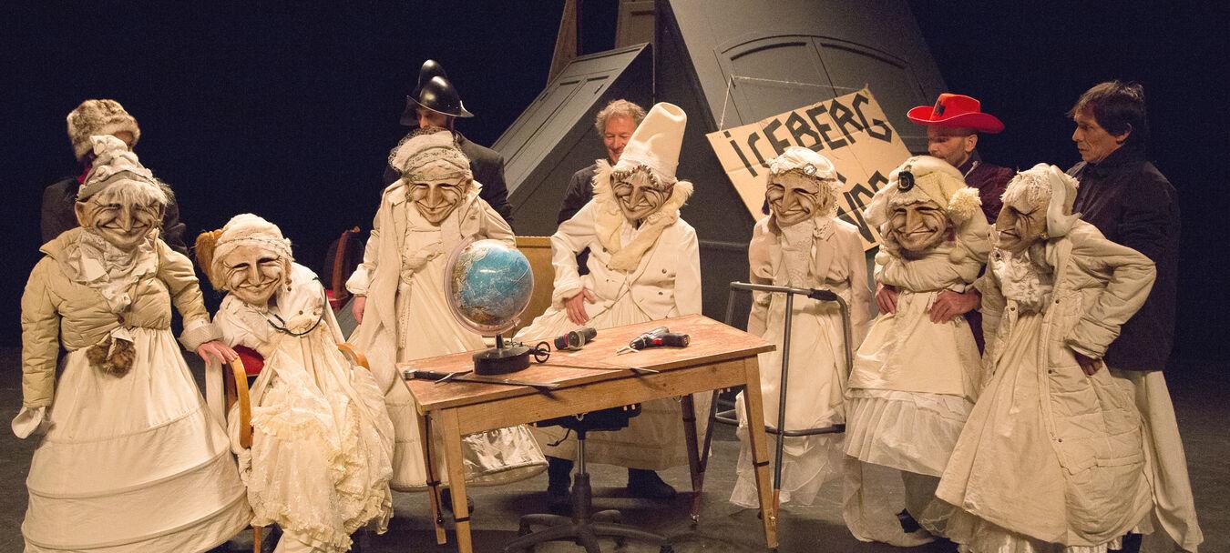 7 sœurs de Turakie   Michel Laubu – Emili Hufnagel – Turak Théâtre