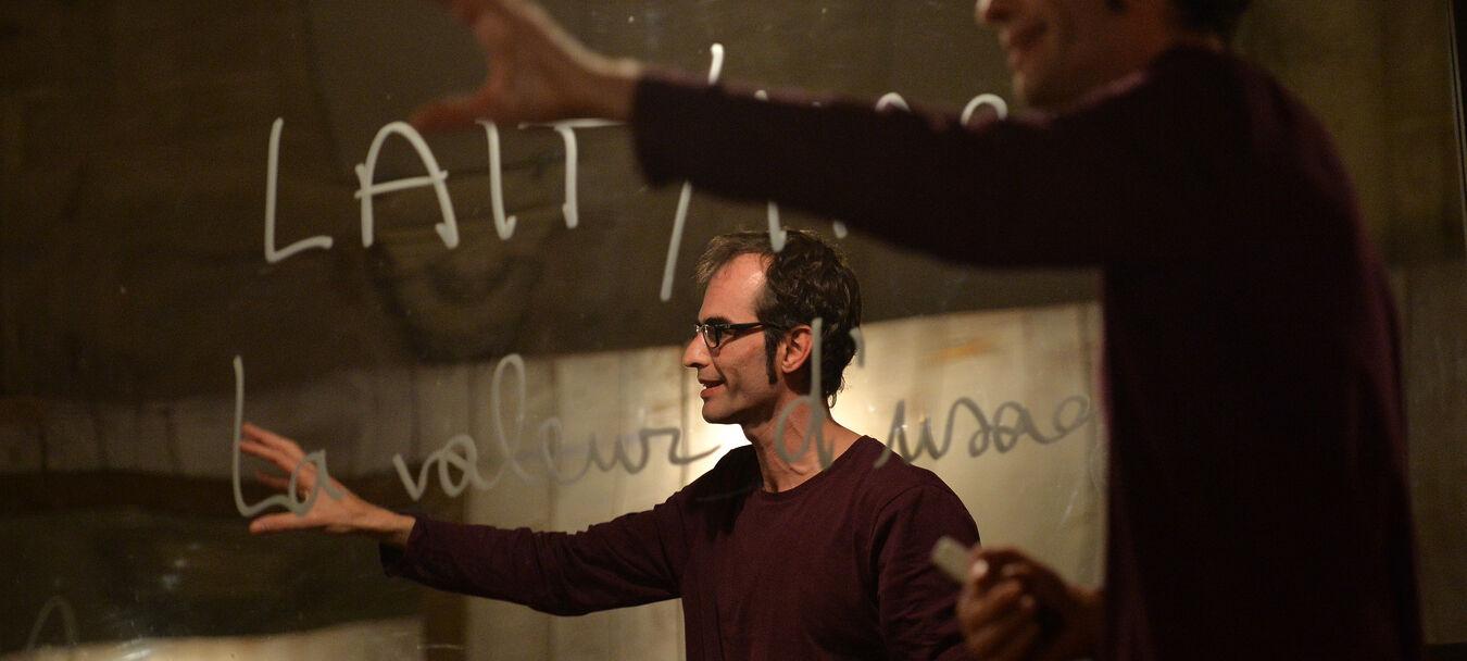 Marx Matériau / Celui qui parle | Jacques Allaire – Luc Sabot – C<sup>ie</sup>Nocturne